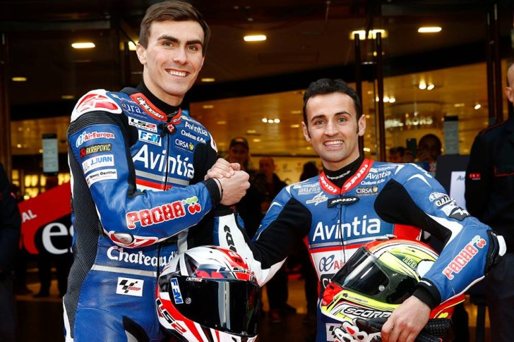 Баз и Барбера, презентация Avintia Racing 2016