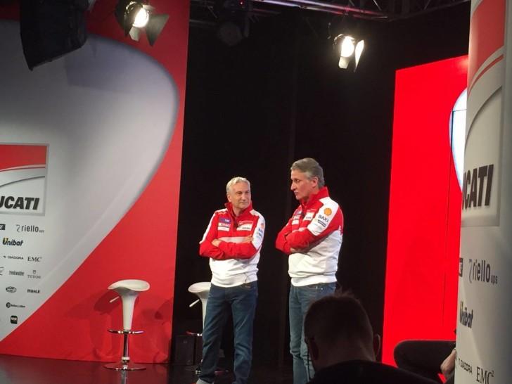 Презентация Ducati Team 2016