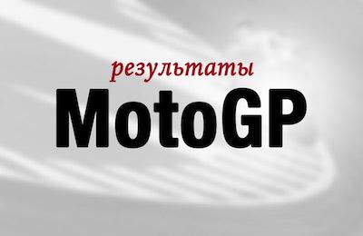 Результаты MotoGP