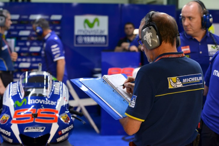 Хорхе Лоренсо и Michelin