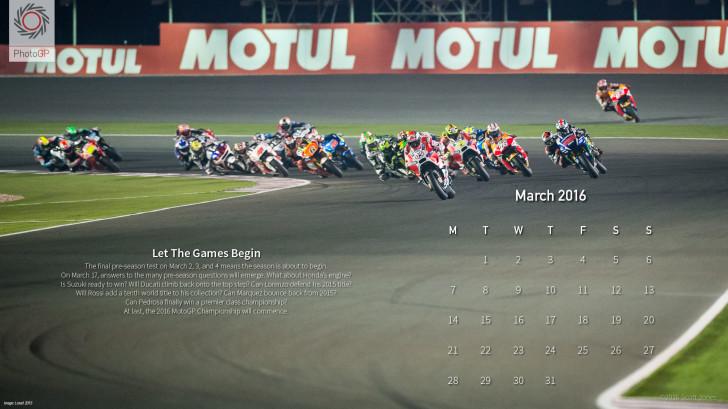 Календарь от Скотта Джонса, март 2016