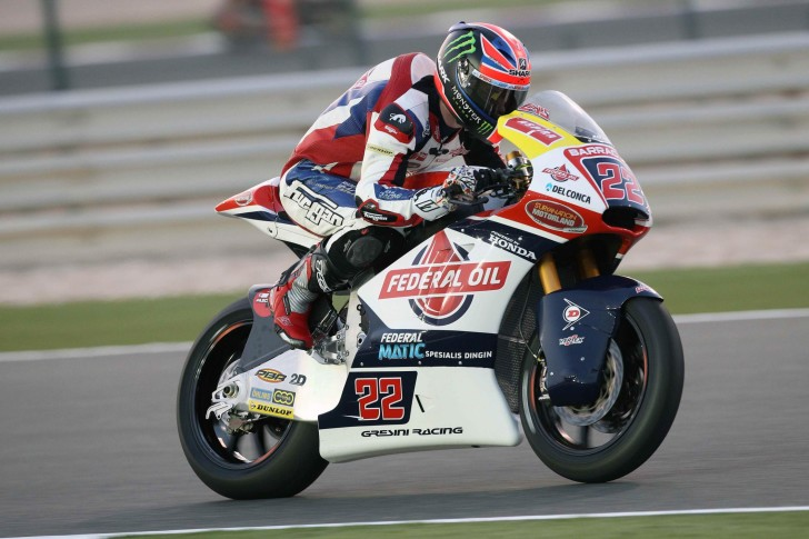 Сэм Лоус Federal Oil Gresini Moto 2, Qatar Moto2-Moto3 Official Test