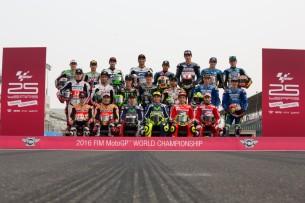 Гонщики сезона MotoGP 2016