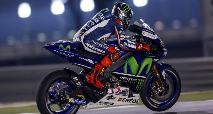 Хорхе Лоренсо, официальные тесты MotoGP в Катаре 2016