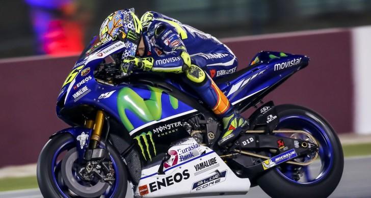 Валентино Росси, официальные тесты MotoGP в Катаре 2016