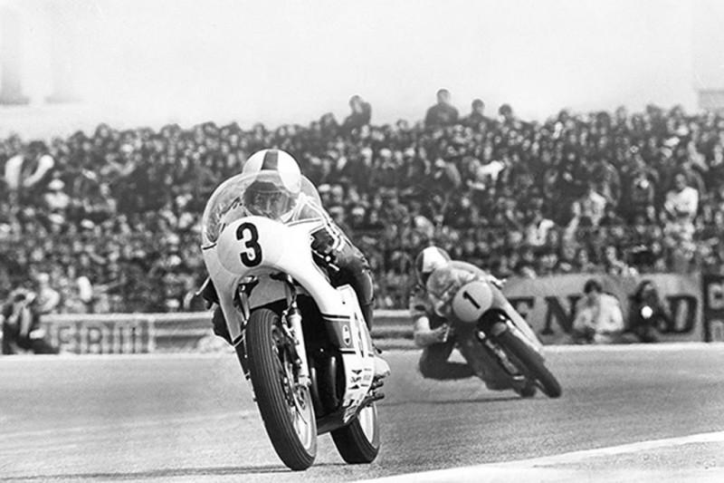 Ярно Сааринен и Джакомо Агостини (Франция, 1973)