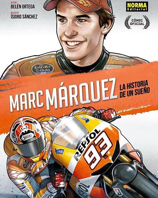 Марк Маркес представил книгу о себе