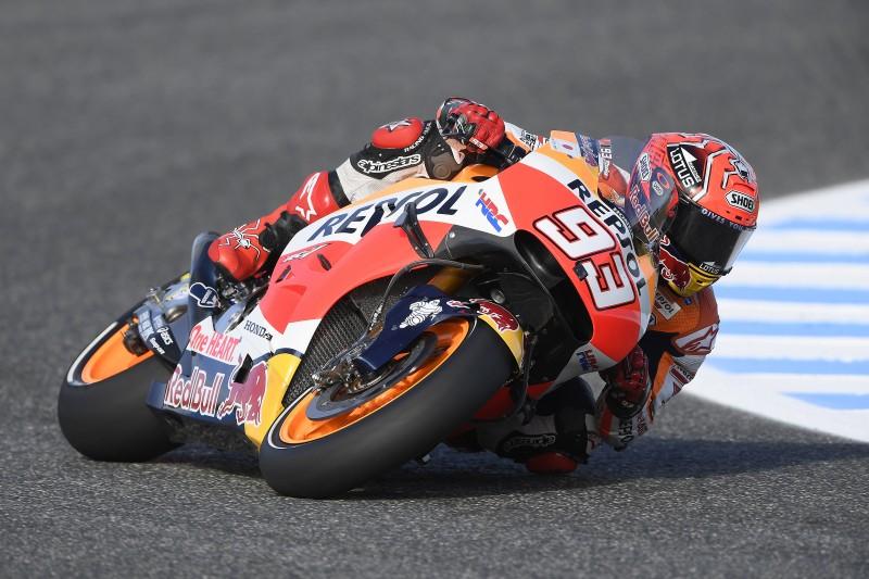 Марк Маркес, пилот Repsol Honda Team, MotoGP 2016, аэродинамические крылья