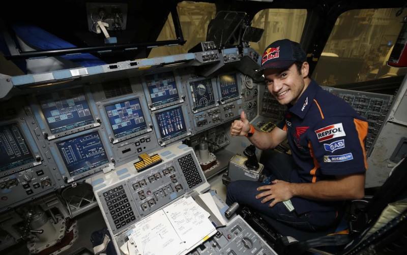 Дани Педроса в NASA