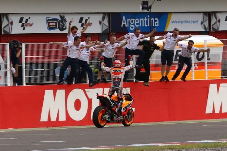 Марк Маркес, Repsol Honda Team, MotoGP 2016, Гран-При Аргентины