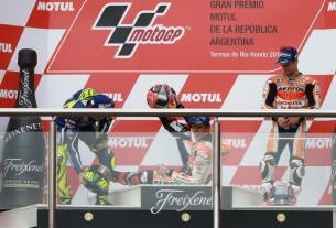 Марк Маркес, подиум Гран-При Аргентины, MotoGP 2016