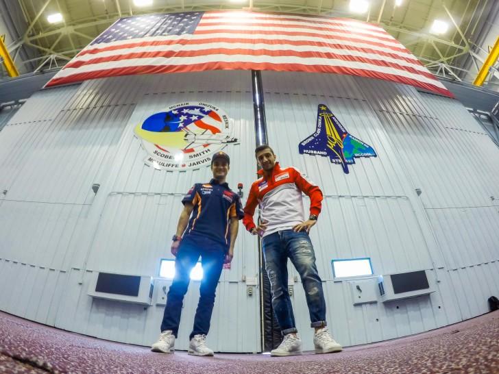 Педроса и Ианноне в центре NASA
