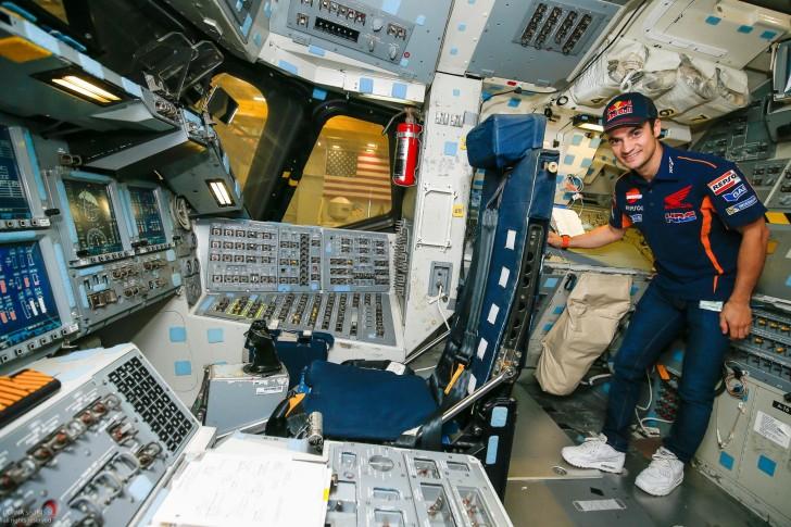 Дани Педроса в центре NASA