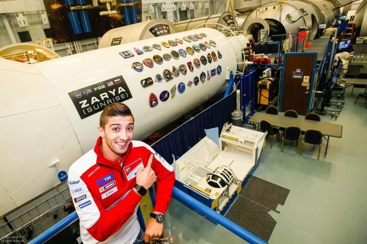 Андреа Ианноне в центре NASA