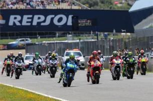 Старт MotoGP Гран-При Хереса 2016
