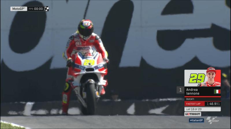 Андреа Ианноне, пилот Ducati Team, MotoGP