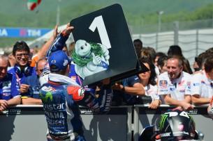Хорхе Лоренсо, победительно гонки MotoGP Гран-При Италии