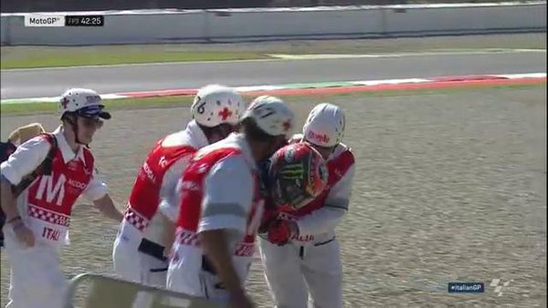 Тито Рабат, авария, Гран-При Италии 2016