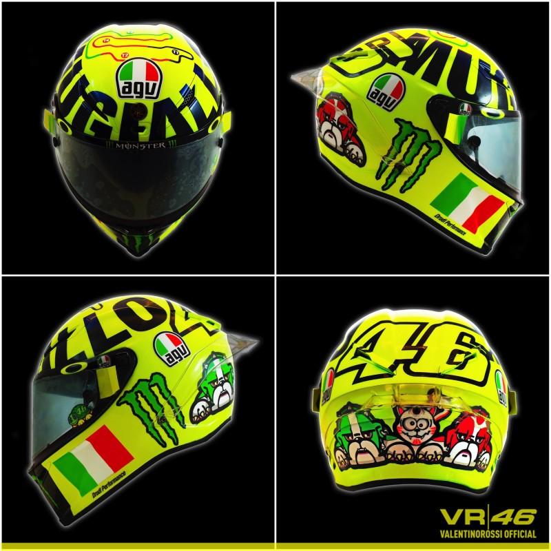 Шлем Росси для Гран-При Италии 2016
