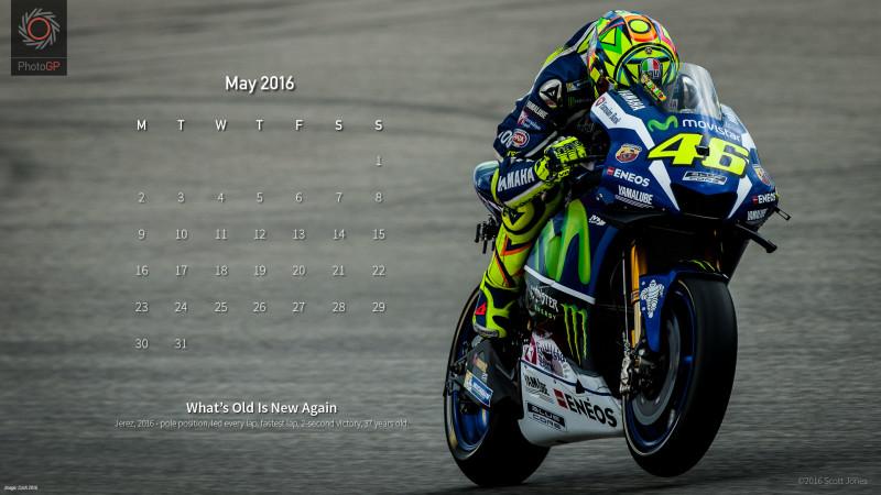 Календарь на май 2016 от Скотта Джонса