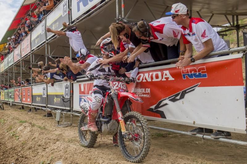 Тим Гайсер в Испании (MXGP, 2016)