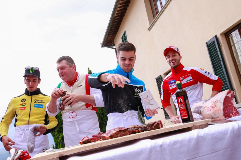 Флорентийский бифштекс перед Гран-При Италии