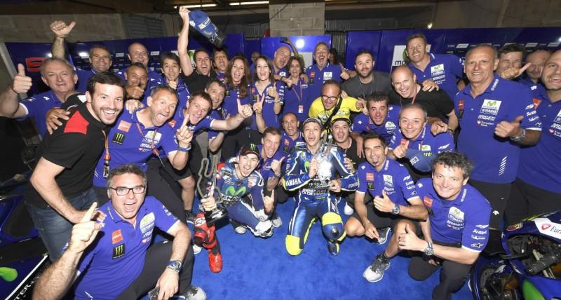Movistar Yamaha MotoGP, Хорхе Лоренсо, Валентино Росси, команда