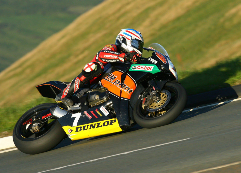 Стив Плейтер на Isle of Man TT 2009