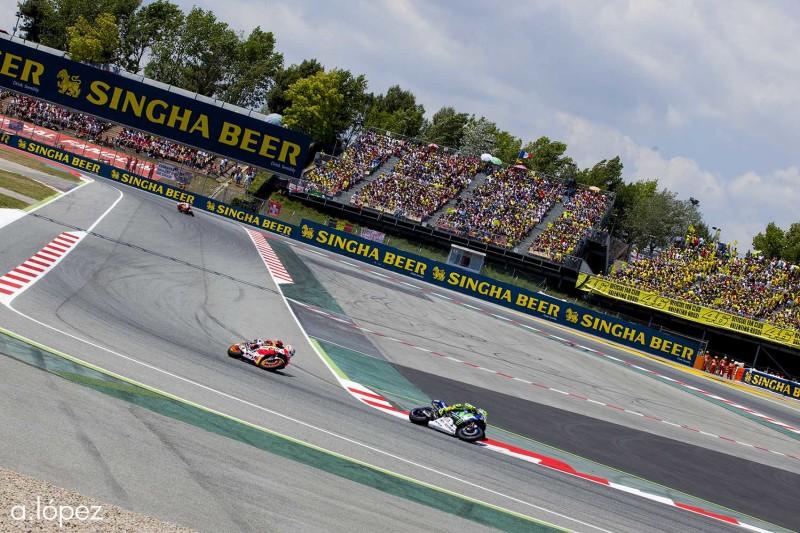 Росси, Маркес, Гран-При Каталонии, MotoGP 2016