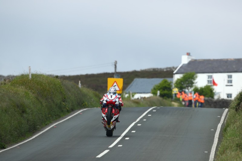Джон МакГиннес на Isle of Man TT 2016