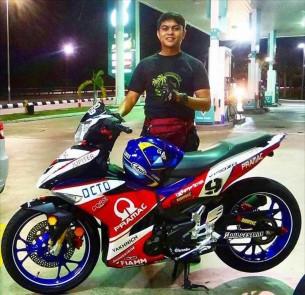 фотоGP: Малазийский фанат Pramac Yakhnich преобразил свой скутер до неузнаваемости