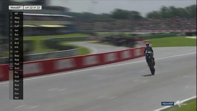 Джек Миллер, гонка MotoGP Гран-При Нидерландов 2016