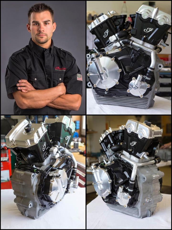 Джаред Мис и новый мотор Indian