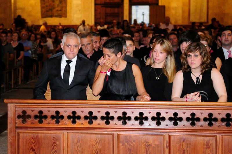 На похоронах Луиса Салома