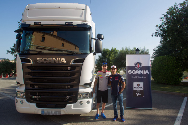 Братья Маркесы и Scania R580