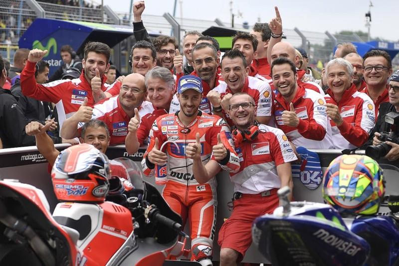 Андреа Довициозо, Ducati MotoGP, поул