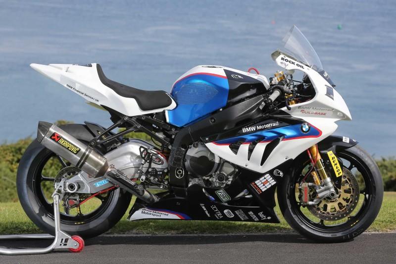 BMW S1000RR Майкла Данлопа для Isle of Man TT 2014