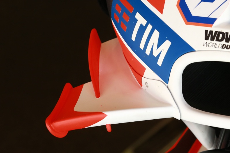 Аэродинамическое крыло Ducati