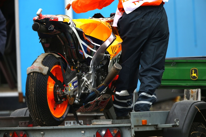 Мотоцикл Марка Маркеса на скутере, Гран-При Нидерландов, MotoGP 2016