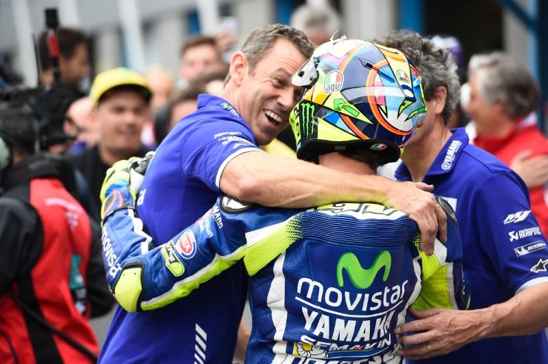 Валентино Росси, вторая позиция, Гран-При Нидерландов, квалификация MotoGP 2016