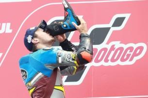 Джек Миллер, подиум, победа, гонка MotoGP Гран-При Нидерландов 2016