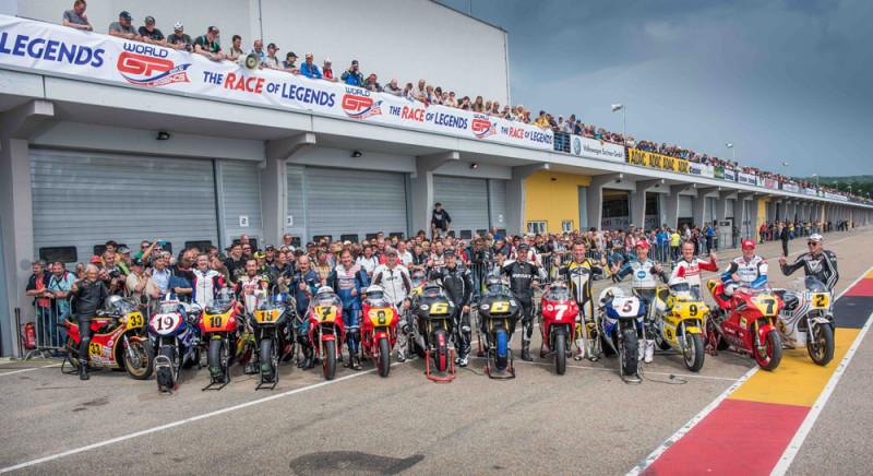 World GP Bike Legends 2016