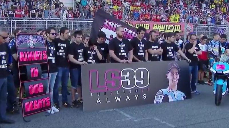 Минута молчания в память о Луисе Саломе