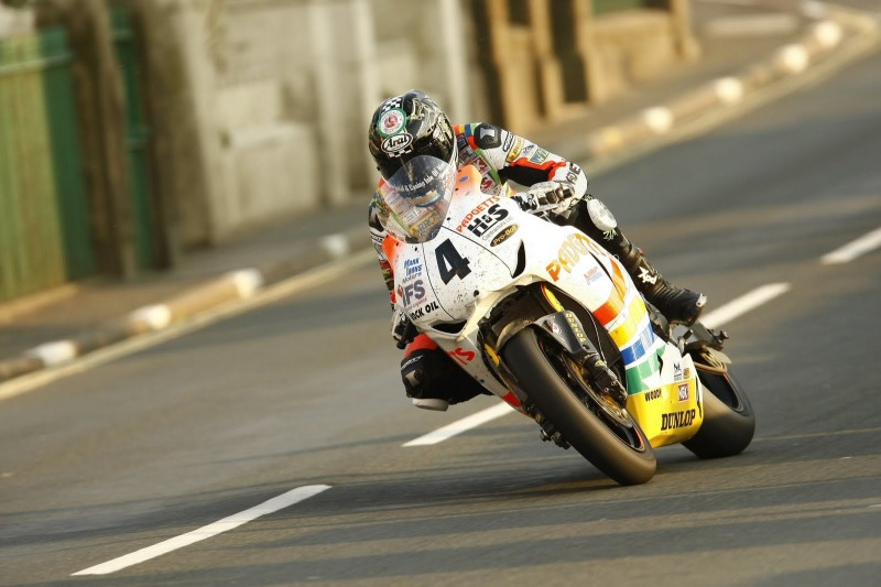 Йен Хатчинсон на Isle of Man TT 2010
