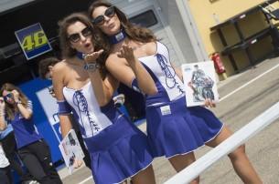 Девушки паддока, Yamaha, Гран-При Германии 2016