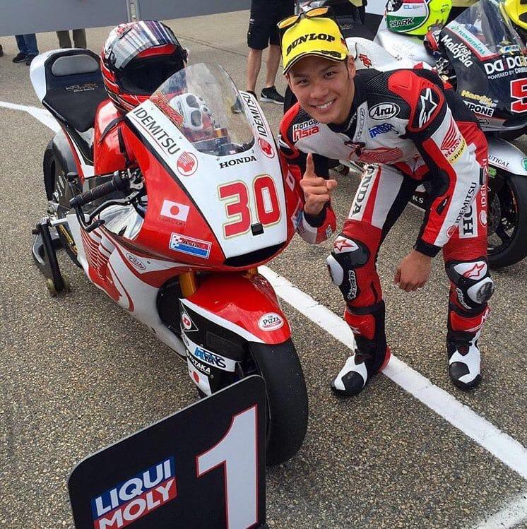 Такааки Накагами, Гран-При Германии 2016