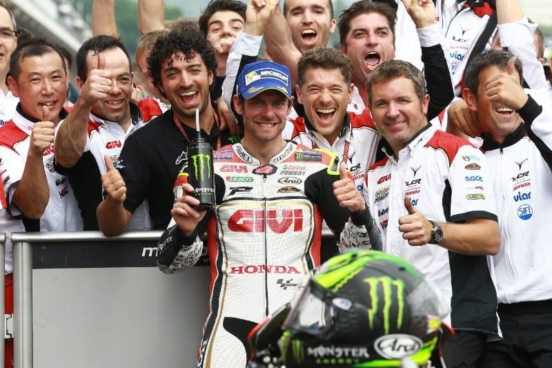Кэл Крачлоу, Гран-При Германии 2016, подиум
