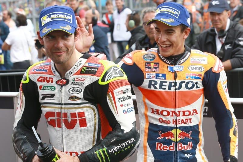 Кэл Крачлоу и Марк Маркес, Гран-При Германии 2016