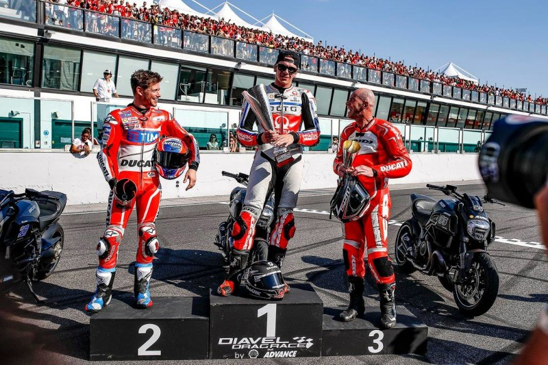 Стоунер, Реддинг и Лакони на World Ducati Week 2016