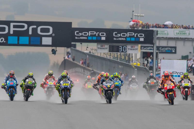 Старт Гран-При Германии 2016